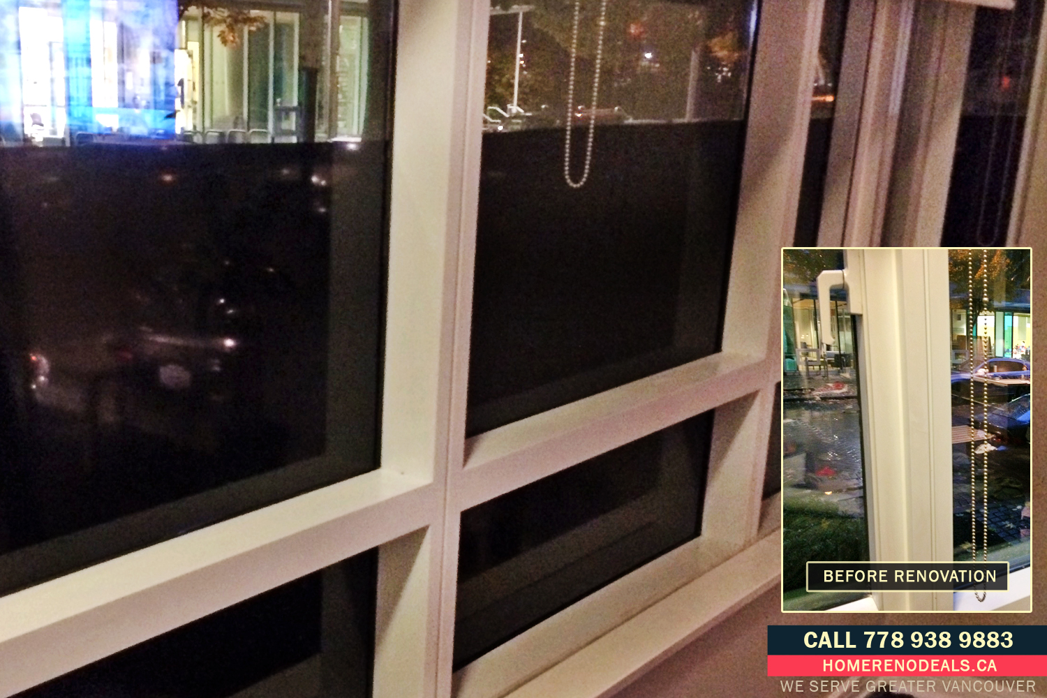 Who can install window privacy film? Home Renovation Deals in Greater Vancouver, BC