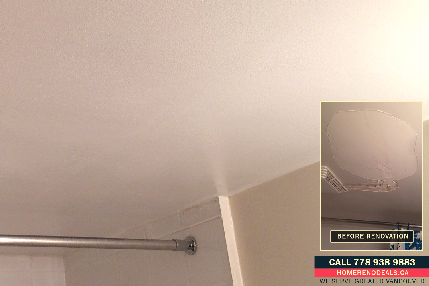 Professional and fast water damage ceiling repairs in Greater Vancouver, BC
