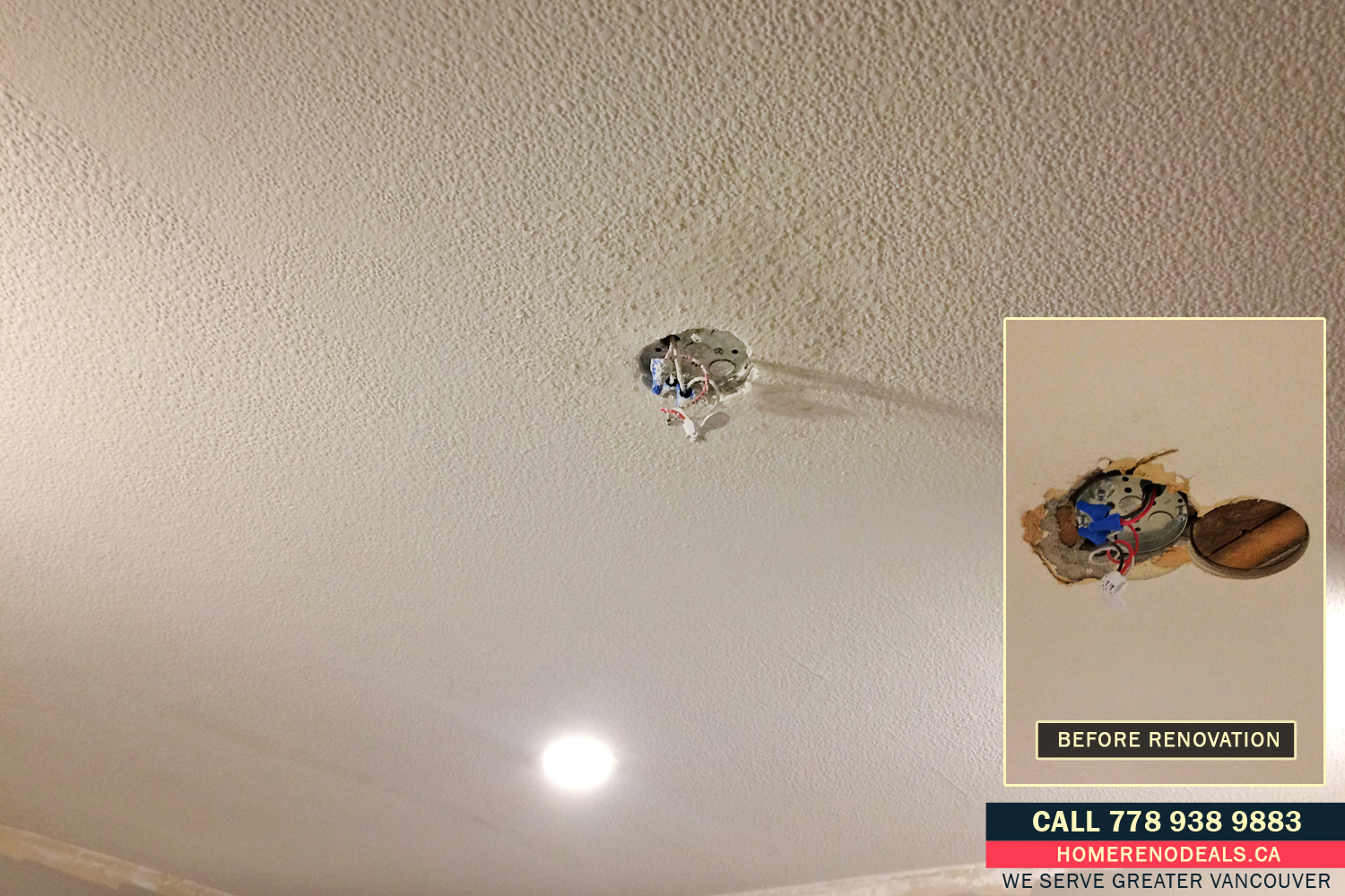 Popcorn Ceiling Repairs And Texture Ceiling Blending In
