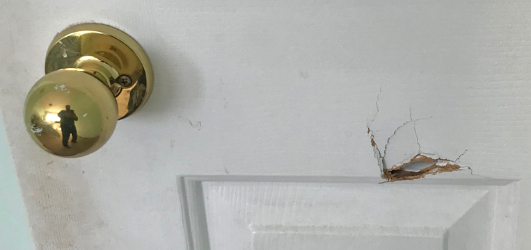 How To Fix A Hole In A Door Fast In Greater Vancouver, BC