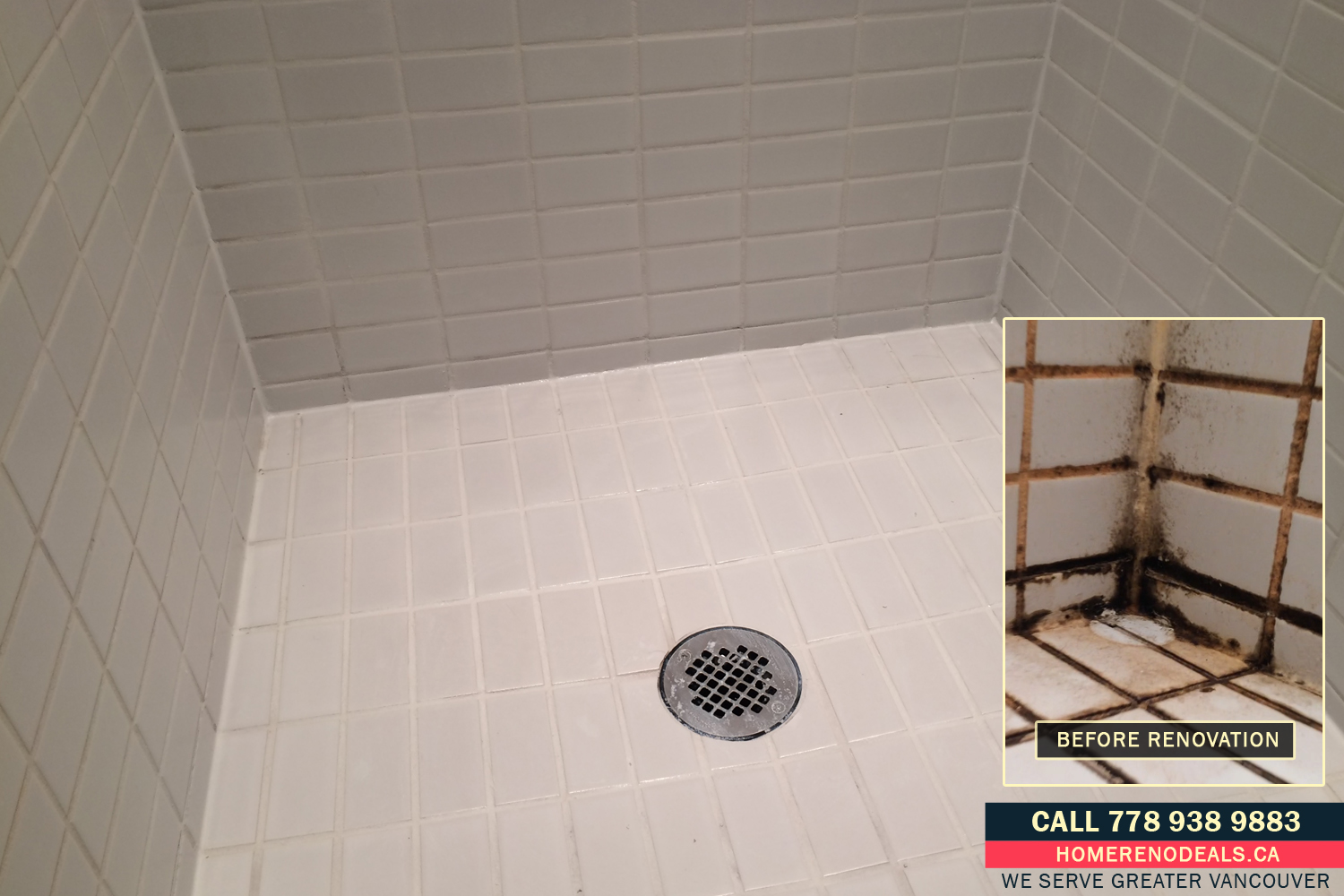 Regrouting Service Near Me. Home Renovation Deals in Greater Vancouver, BC