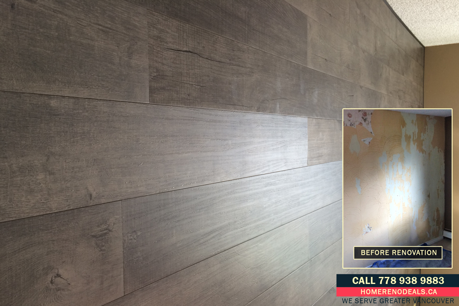 Element Wood Decorative Wall Panel Installation Service In Burnaby Bc