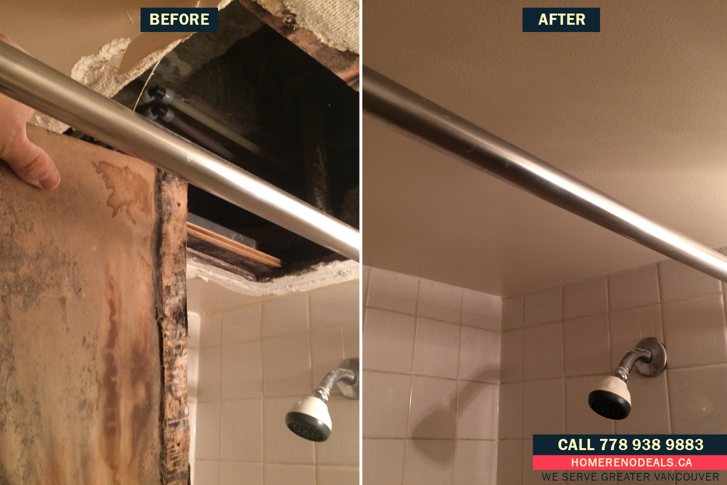 Flat Ceiling Repair Services In Greater Vancouver Bc